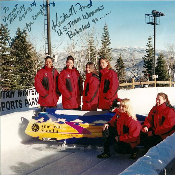 U.S. Womens Bob Sled Team
